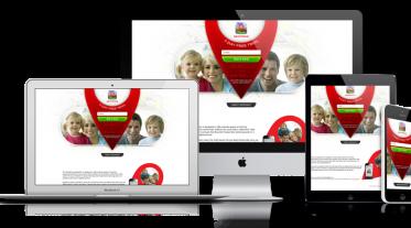 Geofence - Web Design